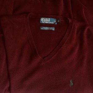 Polo Ralph Lauren Men's 100% Cotton Sweater Sz XL